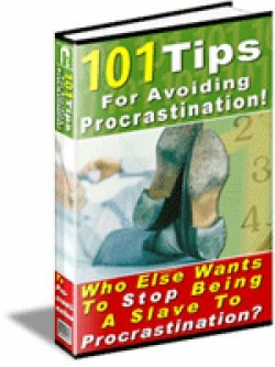 101 WAYS FOR AVOIDING PROCRASTINATION